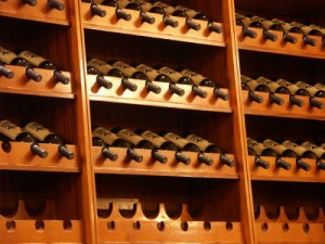 Tilted Wine Storage