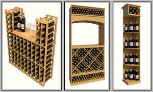 Click here to view more modular wine racks!