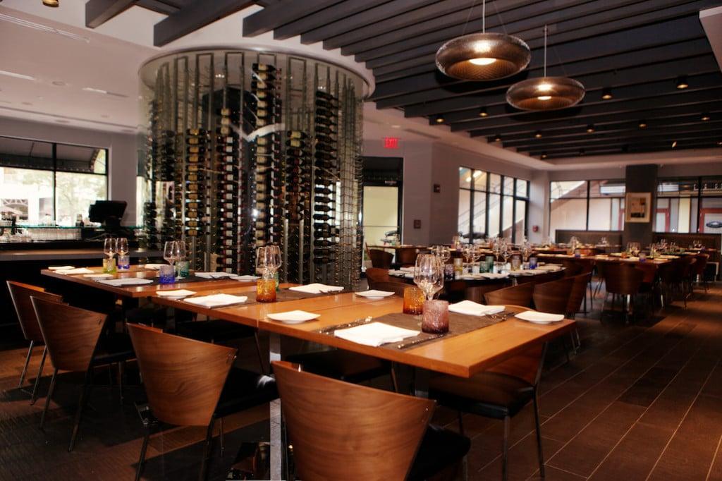 Commercial Wine Displays Toscano Divino Restaurant Miami Florida