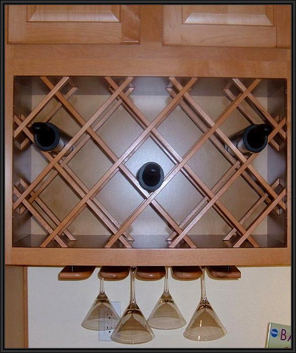 HANGING WINE RACKS