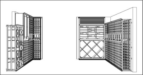 Sample 3D Wine Cellar Design