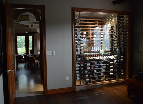 Contemporary Custom Wine Cellars North Miami Florida