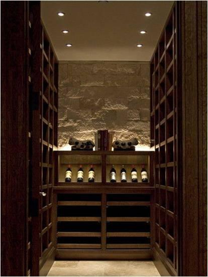 wine cellar light