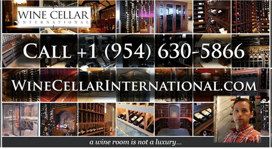 Wine Cellar International, a Top Notch Master Builder in Florida