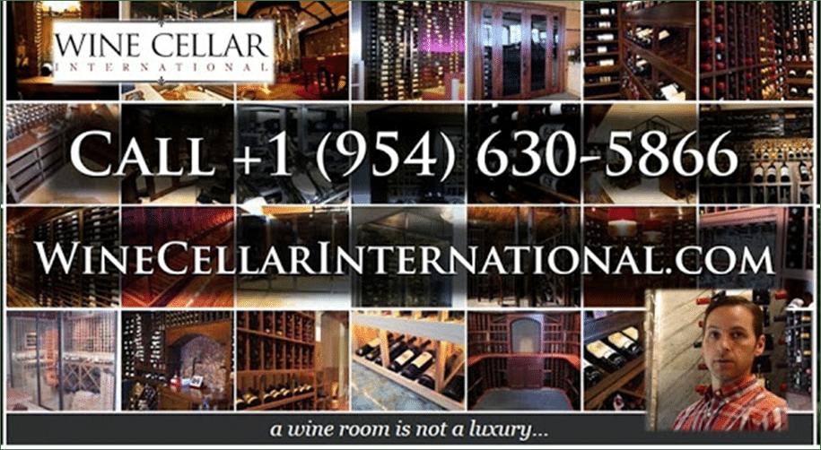 Wine Cellar International, a Top Notch Master Builder in Florida