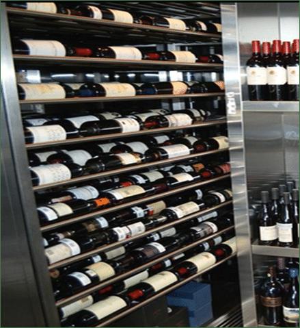 metal wine racks Florida