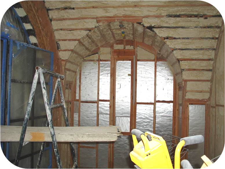Florida wine cellar insulation